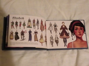 Premium Edition Artbook Elizabeth Artwork