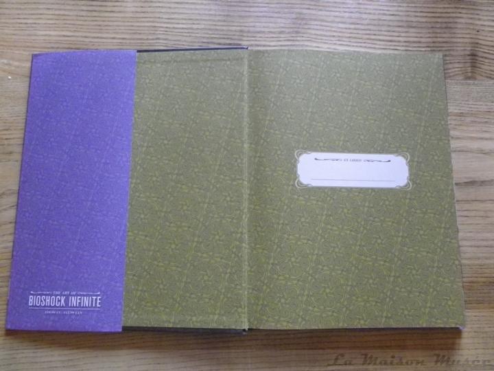 Ex Libris Artbook BioShock infinite