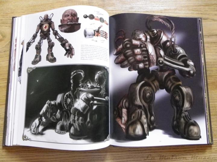 Handyman Artbook BioShock Infinite Frankenstein