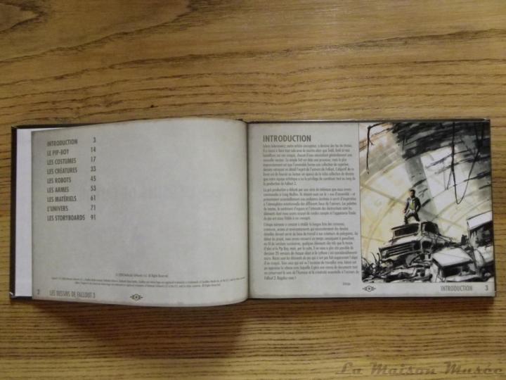 Contenu Les Dessins de Fallout 3 Artbook