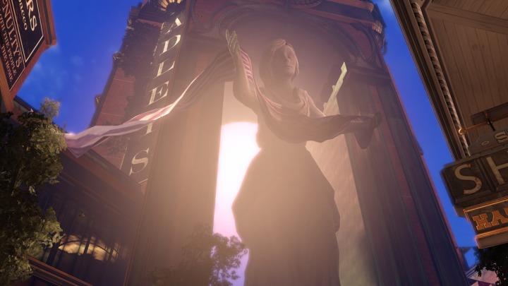 Un exemple possible de la maitrise lumineuse et des contrastes dans BioShock Infinite
