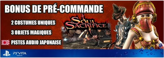 Preorder Micromania DLC Soul Sacrifice