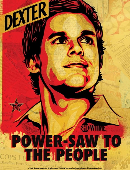 Dexter Pop Art Affiche