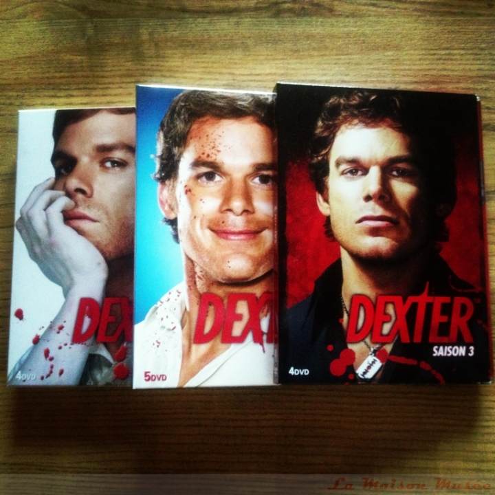 Dexter Seasons DVD