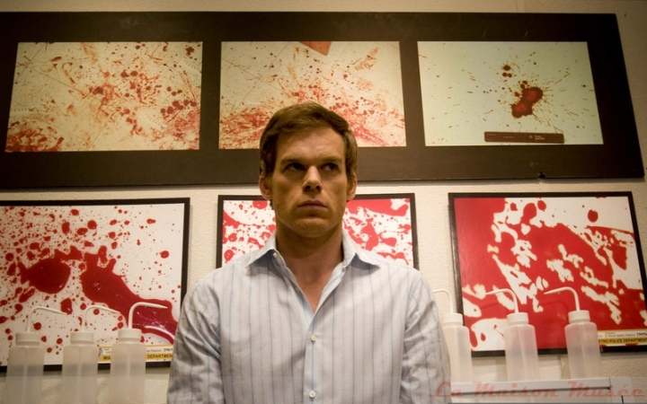 Dexter Character Blood Picture