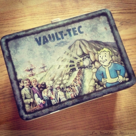 Fallout 3 Edition Collector Artwork Lunch Box Face