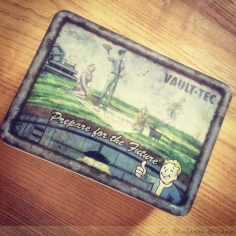 Fallout 3 Edition Collector Artwork Lunch Box