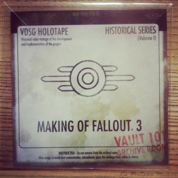 Protection Paper Blu-Ray Making Of Fallout 3