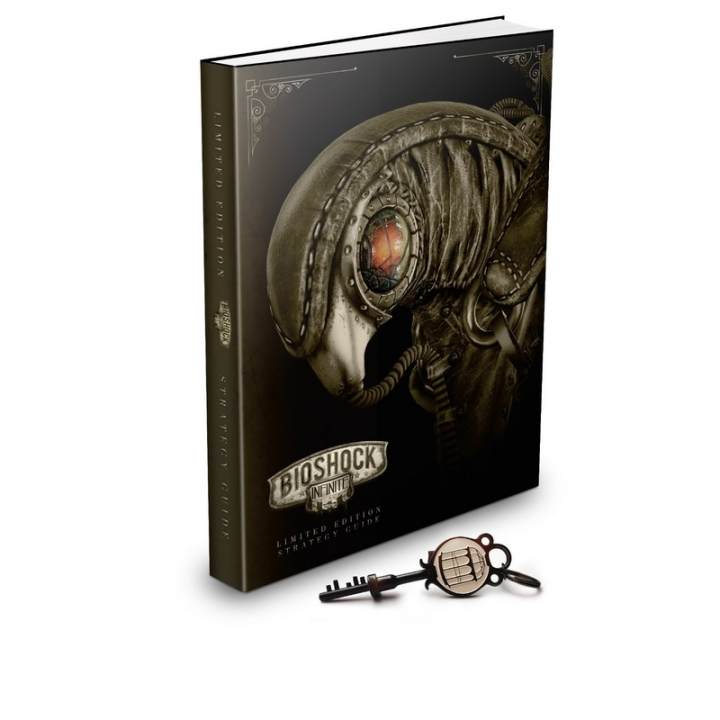 Strategy Guide Book Collector BioShock Infinite