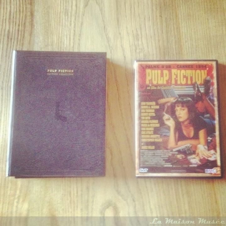 DVD Pulp Fiction Comparaison