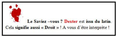 Dexter Latin Droit