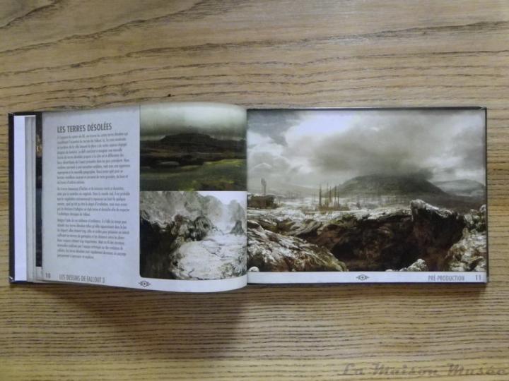 Les Dessins de Fallout 3 Artbook Wasteland Nuclear