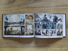 The Art of Fallout 3 Artbook Storyboard Nuclear War