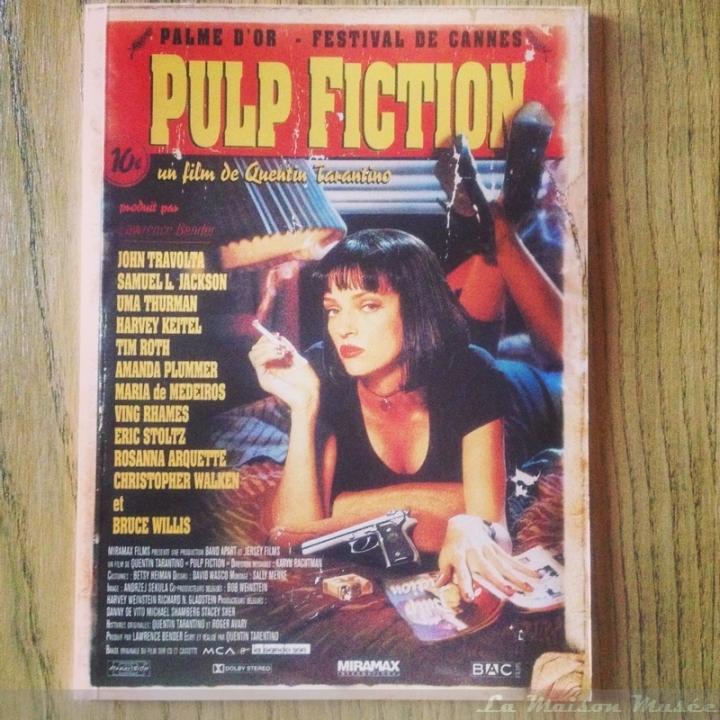 Livret Edition Collector Pulp Fiction