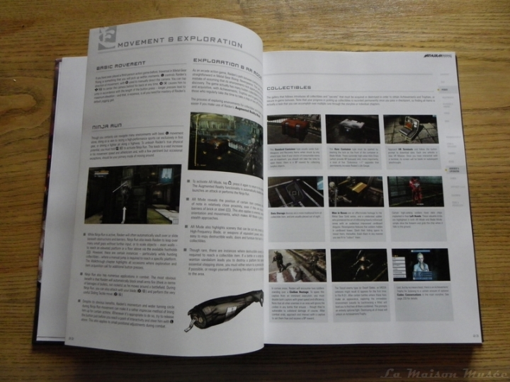 Objets à Collectionner Guide Metal Gear Rising Revengeance