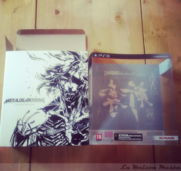 Boite Metal Gear Rising Revngeance Limited Edition
