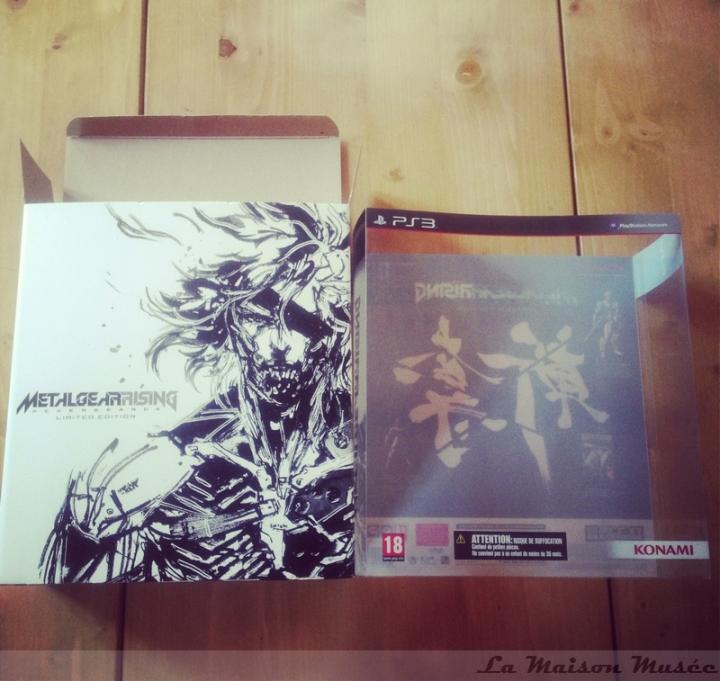 Boite Metal Gear Rising Revngeance Limited Edition