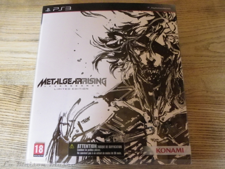 Metal Gear Rising Edition Collector PS3