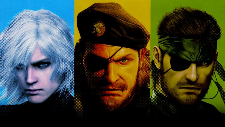 """Trois jeux d'exception et ses personnages respectifs : Raiden & """"Big Boss"""" dans 2 temporalités différentes."""