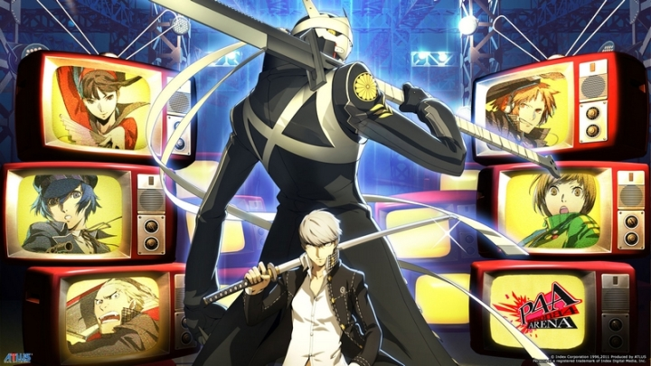 Persona 4 Arena Artwork Official Europe