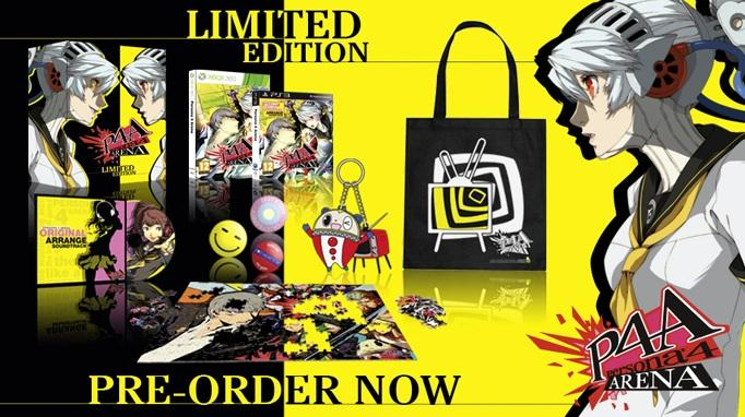 Persona 4 Arena Limited Edition Zen Store