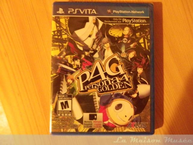 Persona 4 The Golden PS Vita