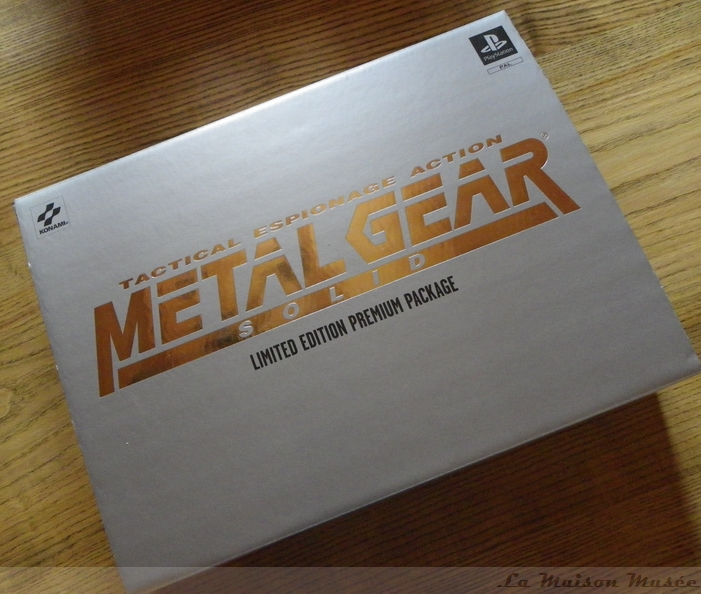 Premium Package Collector Metal Gear Solid 1 PAL