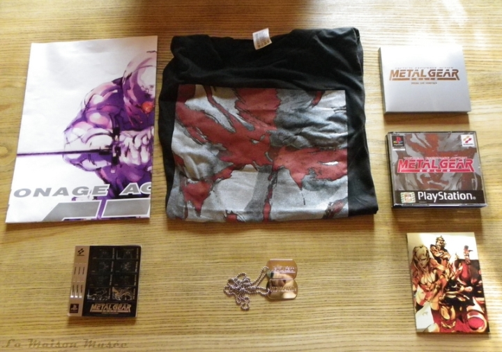 Contenu Limited Edition Premium Package Metal Gear Solid 1