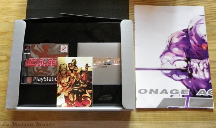 Premium Package PAL Metal Gear Solid 1 Ouverture Boite