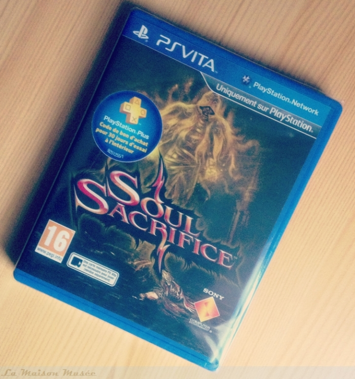 Soul Sacrifice Vita Box
