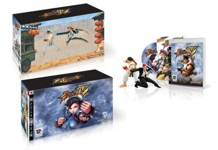 Packaging Collector Street Fighter IV