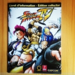 SF 4 Livret Collector Udon Artwork