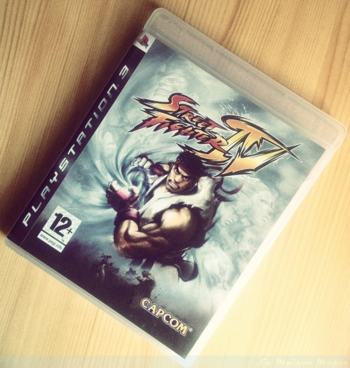Street Fighter IV Collector Edition Alternate Cover