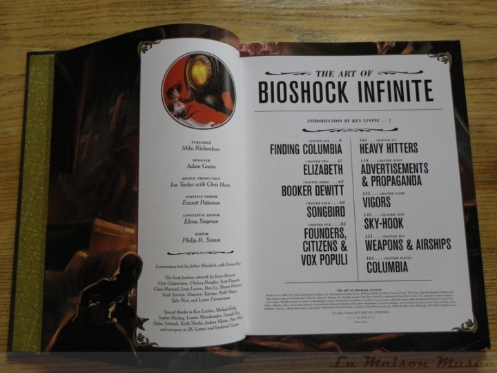 The Art of BioShock Infinite Chapters