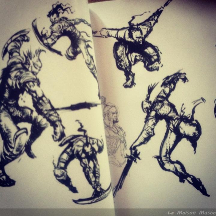 Ebauches Kratos God of War