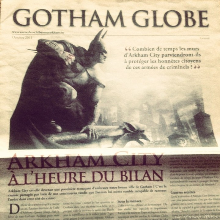 Newspaper Gotham Promo