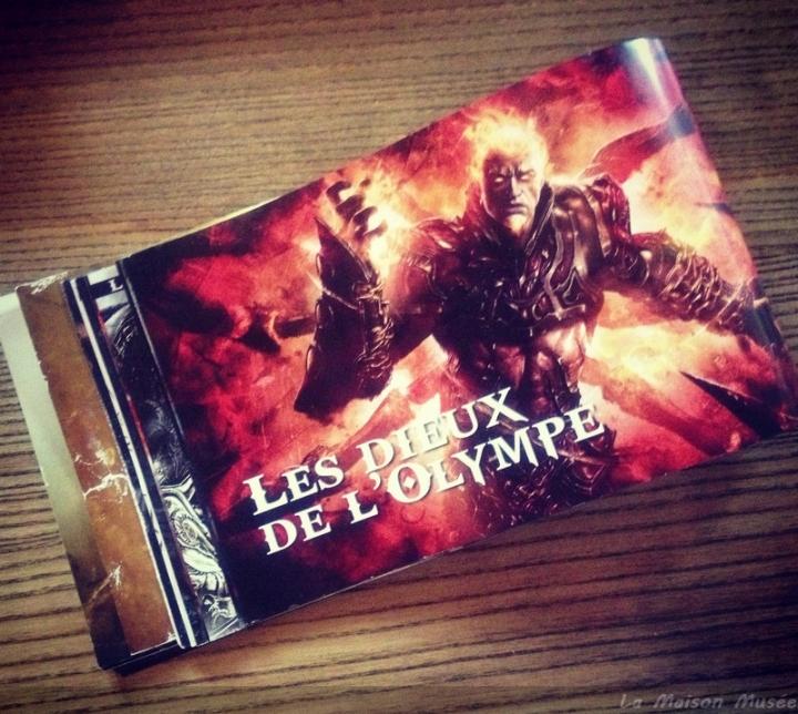 Arès Olympe God of War