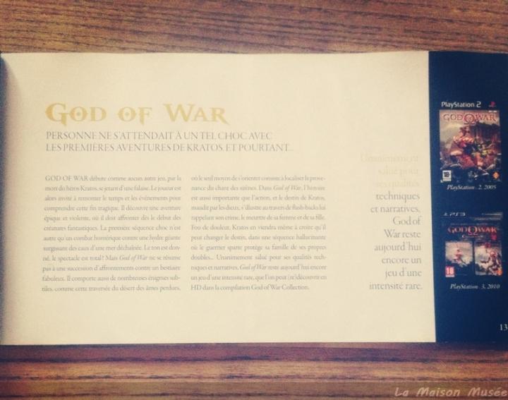 Chronolodie épisode god of war