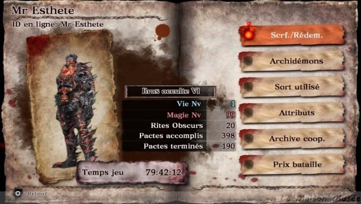 Trophies Guide Soul Sacrifice Vita