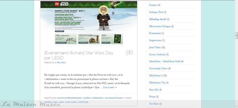 Journée Star Wars 4 Mai