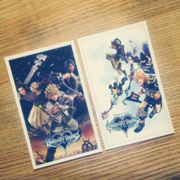 Kingdom Hearts Lithographies