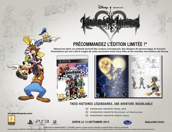 Kingdom Hearts HD Collector