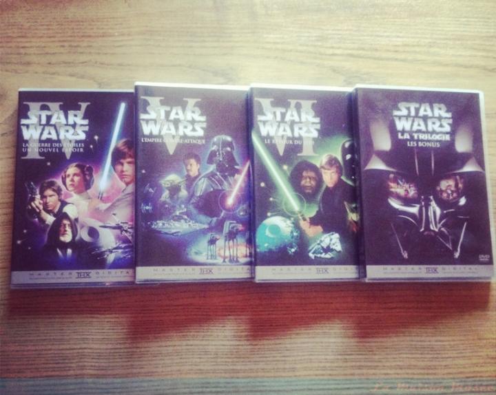 La Trilogie Star Wars DVD