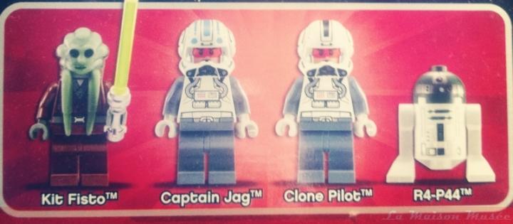 LEGO Kit Fisto ARC StarFighter