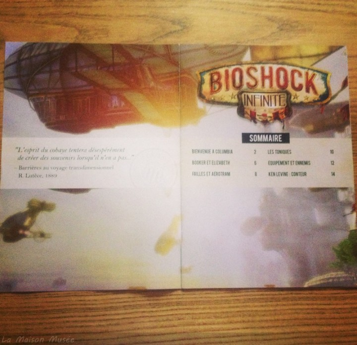 Booklet Promotional BioShock Infinite