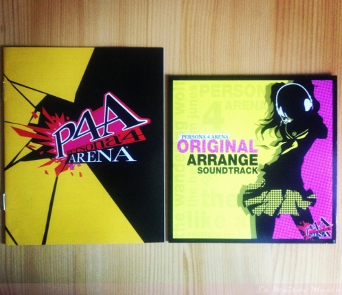 Visual CD Persona 4 Arena