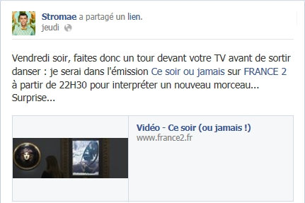 Emission TV Stromae