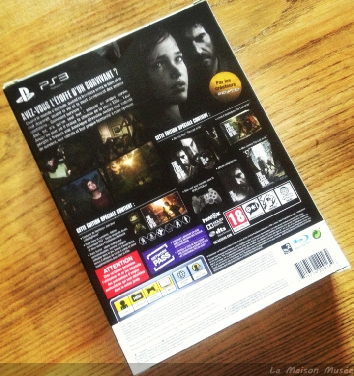 Boite Collector The Last of Us