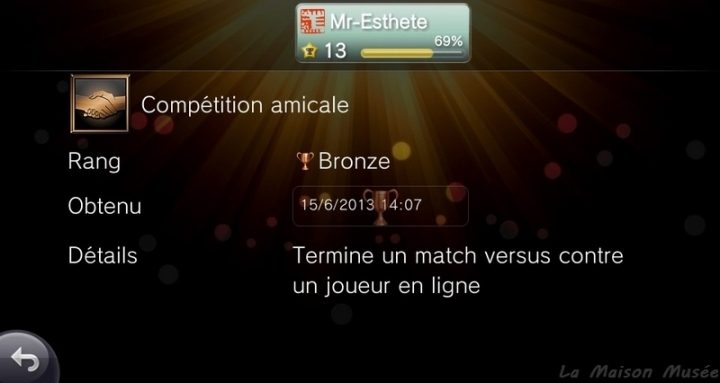 Competition Amicale Trophee PlayStation All Stars Battle Royale