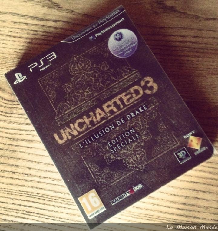 Deballage Uncharted 3 Edition Speciale